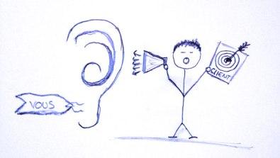 stratégie marketing écoutez vos clients